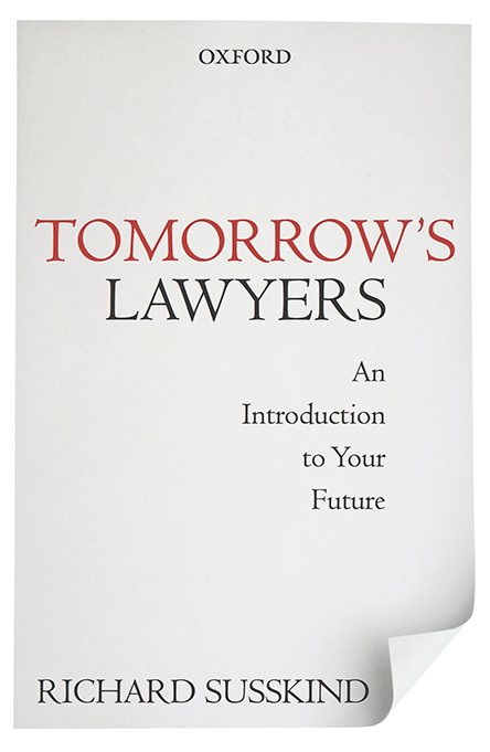 Tomorrow's Lawyers Book Cover